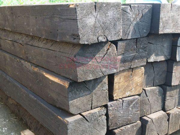 Продажа шпал деревянных пропитанных