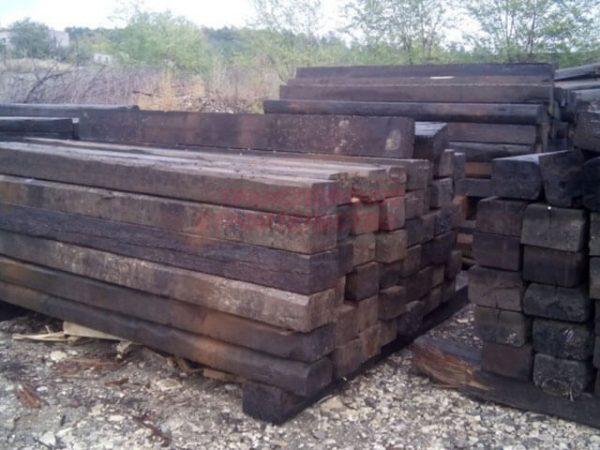 Продажа шпал деревянных б/у